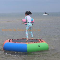 L'eau gonflable Trampoline Splash eau rembourré Bouncer Jump Trampoline d'eau plate-forme de natation de rebond