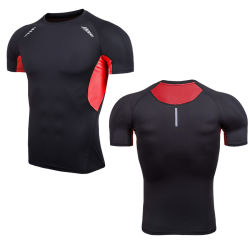 Cool Max сухой установите спорта работает футболки для мужчин