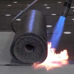 Incendié-de bitume Membrane imperméable tôle de toit de la construction de l'Asphalte
