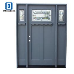 Haut de Gamme Fangda artisan avec tache gris extérieure de porte