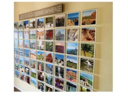 Het plastic Frame van het Af:drukken van de Foto voor Album/Affiche/Reclame/het Art. van de Muur
