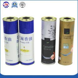 Empilhadas 500ml tambor de óleo de fritura Embalagem Metálica Caixa de estanho