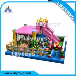 Aufblasbarer Bouncer / Rutsche Fun Park für Kinder Neues Design Weihnachten Bouncing Burg