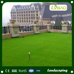 화이트는 축구용 중국 거주 잔디 인조 잔디 카펫을 사용했습니다