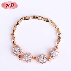 Мода 14K 18k позолоченными контактами Lether очарование браслет с цепью MAN для женщин Bangle браслет украшения