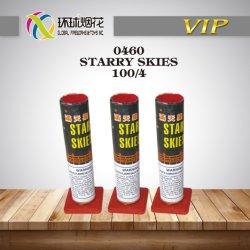 0460-Skies-Wholesale étoilé de haute qualité de la fumée de vérin de mariage d'or stade Fontaine Fireworks