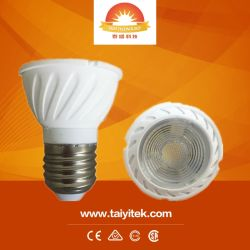 Nouveau MR16 GU10 5W à intensité variable COB Ampoule de LED Downlight Spotlight