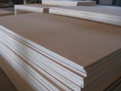 Dubai markt 3*7FT grootte 6mm dikte Nature Teak Plywood Board Voor deur Skin Made in Linyi
