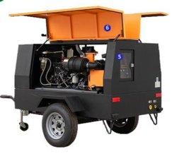 採鉱産業のための携帯用空気圧縮機