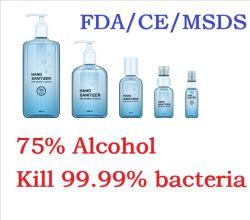 75% Spiritus-Handdesinfizierer-Gel antibakteriell für Alltagsleben mit FDA