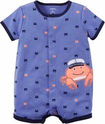 Toddler bébé mignon Rompers coton à manches courtes combinaisons
