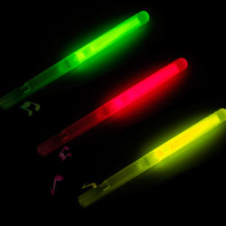 Party Toys Small Glow Whistle, Light Stick