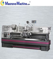 Horizontale drehende manuelle Metalldrehbank des herkömmlichen Motor-5500W (mm-D460X1500)