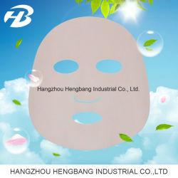 Tissu Non-Woven sec Sakura feuille faciale masque pour soins de la peau