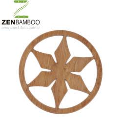 Laser di bambù del sottobicchiere della bevanda per il regalo
