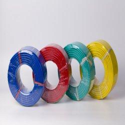 Fio eléctrico com isolamento de PVC cobre único 1,5mm 4mm 2,5mm 6 mm