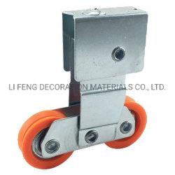 Zincado rolete duplo deslizante para a Janela de porta Acessórios de hardware