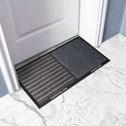 Mayorista de la fábrica PVC Limpiar goma Alfombrilla Shop Home cocina de la puerta del elevador Mat Water-Proof Non-Slip Pad
