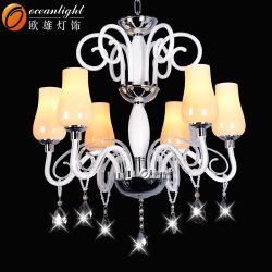 Nuevo Diseño de lujo europeo colgante de cristal colgantes lámparas de araña de Vela (OMG88611-6)