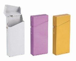 Aluminium sigaret-tas voor vrouw