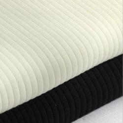 Tejido de algodón tejido Rib