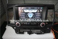 Carro Isun GPS DVD Player para Mitsubishi Lancer Ex com TV, a BT, iPod (TS8731)