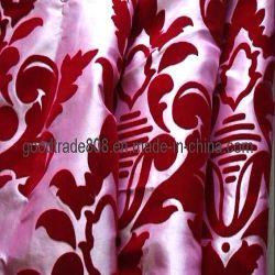 DressのためのナイロンおよびPolyester Flocking N/T Fabric