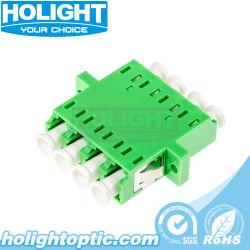 LC/APCの光ファイバネットワークのためのシングルモードクォードのアダプターへのLC/APC