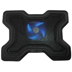 Almofada de resfriamento por ventilador único com 4 Estilo de luz LED n° CF-107