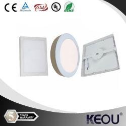 China Factory 6 W 2835 Square Bridgelux/CREE LED-Einbauleuchte