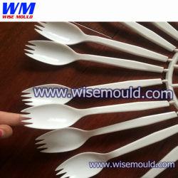 Euro desechables de inyección/molde Cuchara Cuchara Ensalada de molde de inyección/Custom cuchillo de plástico, folk y molde cuchara