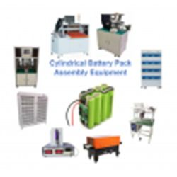 Apparecchiatura di linea per gruppi celle batteria cilindrici per 18650 21700 26650 32650 cella cilindrica
