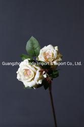 Venda a quente só Rose Flores artificiais flores para Home Casamento Flores decorativas