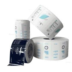 カスタムの安い防水化粧ビニール PVC ペーパー粘着性ステッカーラベル 印刷