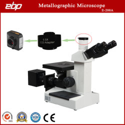 1000X Microscope métallurgique retourné pour la structure métallique avec d'observation de la caméra USB