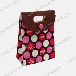 Bolsa de papel de la música, Música Bolsa de compras, grabable bolsa de regalo