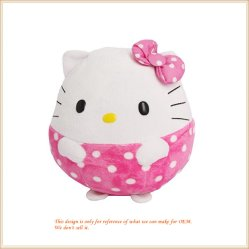 Мягкие шарик Hello Kitty мягкие игрушки белка животного в форме подушки сиденья