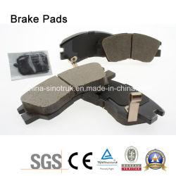 高品質中国のトラックのブランドのCamcのトラックのための元のブレーキパッドTb032/Tb168