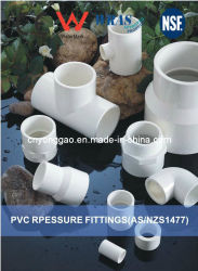 Impianto idraulico di era/accessorio per tubi reti di tubazioni Plastic/PVC AS/NZS1477 standard con il certificato della filigrana