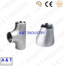 Instalaciones de tuberías de acero inoxidable: Casquillos de los reductores de las tes de los codos