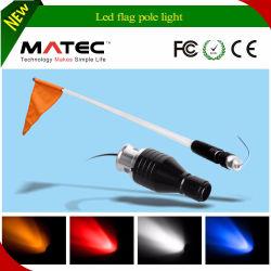 4'5'6' Whips avec lumière LED rouge/vert Flag-Blue 6' pied UTV SUV Whip de l'antenne voiture de sable
