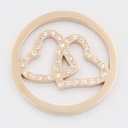 Centro de recolha de moedas para o Dia dos Namorados Aplicar jóias, Pendente de moda