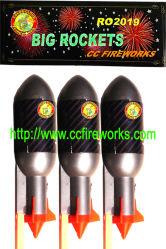 """로켓 3개의 """" 큰 불꽃 놀이 (RO2019)"""