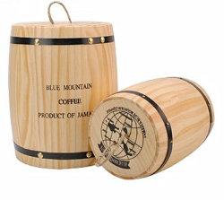 Petit Fût de stockage des grains de café