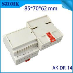 Caixa do projeto caso calha DIN Tampa do Interruptor de ABS para placa PCB