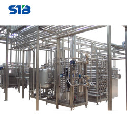 Equipamento de transformação de leite UHT leite de longa duração