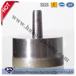 Cono Shank Sintered Diamond Core Drill Bit per Glass