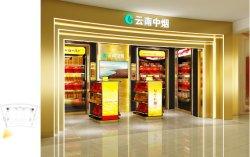 Affichage de la cigarette en acier inoxydable Cabinet pour stocker de franchise de droits de l'aéroport