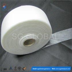 Venda por grosso 40GSM Spunlace Branco Toalhetes não tecidos