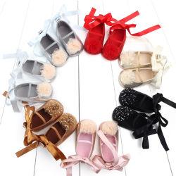 Башмак оптовая торговля детьми Loafer маленьких девочек повседневная обувь
